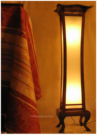 Asian Floor Lamps On Anese Table Top